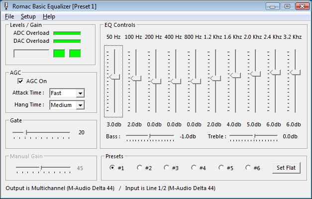 Vista & Windows 7 Audio Mixer Settings
